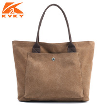 Women's Bags Shoulder Bag Solid Canvas Bag Totes Female Canvas Handbags Ladies Designers Fashion Hand Bag Casual Bolsos Mujer