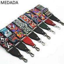 New bag bandwidth shoulder strap inclined shoulder strap with women's bag strap fittings color backpack shoulder strap