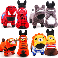 Cute Small Dog Costume Winter Warm Fleece Pet Dog Clothes Cosplay Toroto Tiger Style Chihuahua Yorkshire