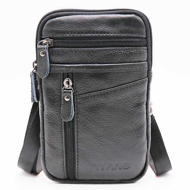 Leather Mini Shoulder Bag Funny Pack Mawgie