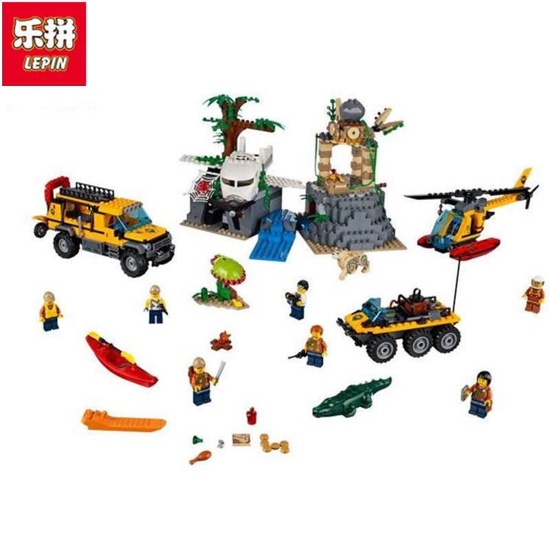 02061 Jungle Exploration Raiders of the Lost Ark Building Bricks Blocks Compatible with