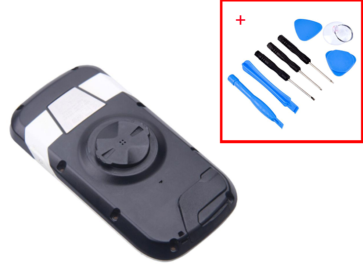 used Bicycle stopwatch Back case for <font><b>GARMIN</b></font> <font><b>EDGE</b></font> <font><b>1000</b></font> bicycle speed meter back cover Repair replacement with battery 90%NEW image