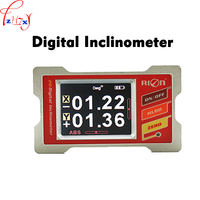 Digital inclinometer DMI420 angle gauge Double axis 360 degree measurement Used for various industrial field measurement 1pc
