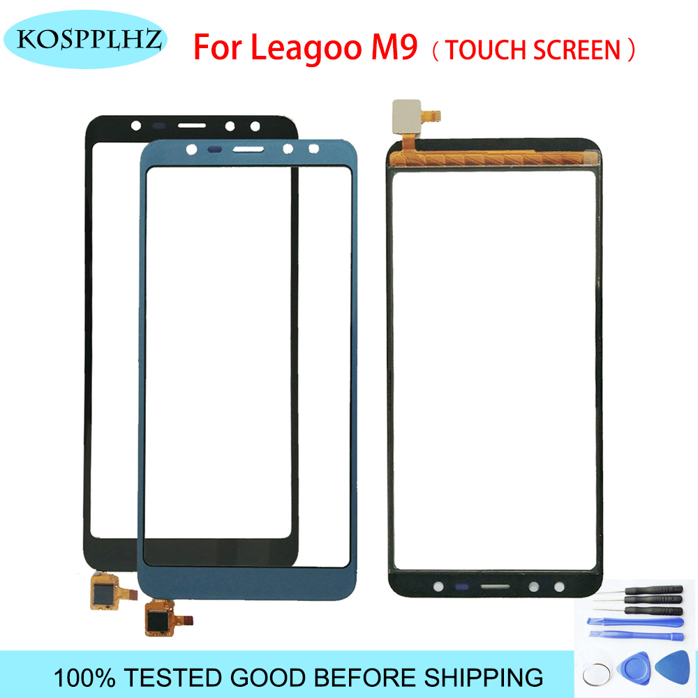 Black/ Blue For Leagoo M9 Sensor Touch Screen 5.5 Inch Perfect Repair Parts Touch Panel +Tools +Adhesive For Leagoo M 9