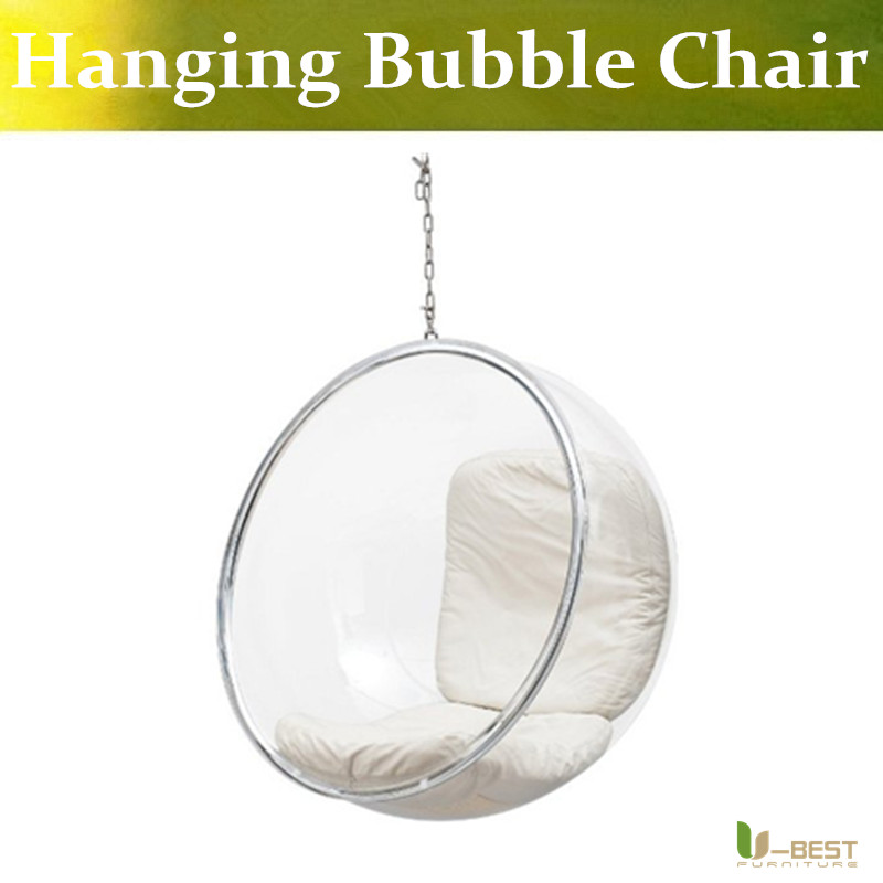 U BEST Kids Lofty Bedroom Hanging Bubble Chairs,cheap Hanging Bubble Chair  For Bedrooms,Swing Bubble Chair