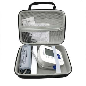 Image 2 - Новинка, дорожная сумка для хранения EVA, чехол для серии Omron 10, беспроводной верхний монитор артериального давления на руку (BP786/ BP785N/ BP791IT)