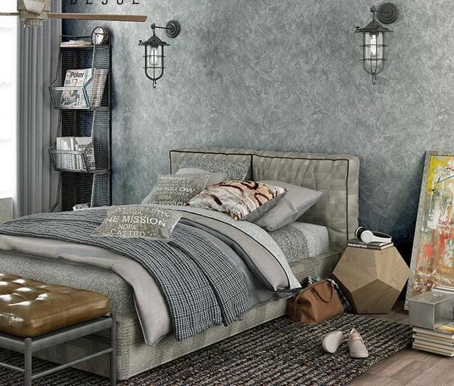 Acheter non tiss industrielle vent ciment gris papier peint - Insonoriser sa chambre ...