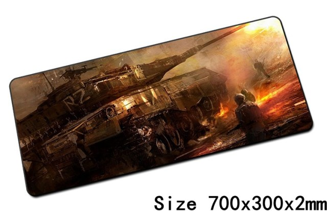 World of Tanks mouse pad best 700x300mm cute gaming mousepad new gamer mouse mat pad keyboard computer padmouse laptop play mats