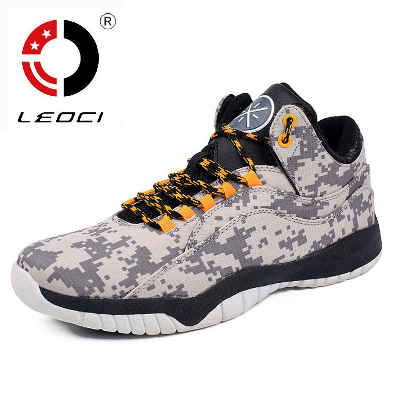 LEOCI High Quality Canvas Basketball Shoes Men Sport Shoes Low Top Mens Basketball font b Sneakers