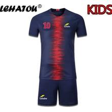 7e7227de557cb Maillot de Football garçon Paris ensembles de Football enfant petit haut de  gamme Neymar Jr Cavani
