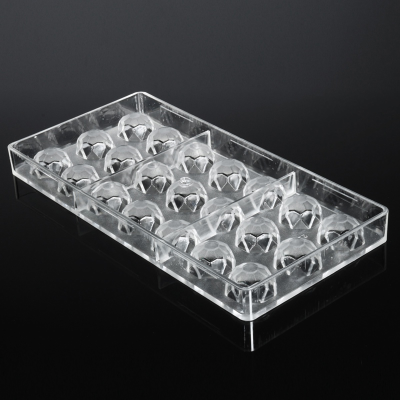 baking pastry moulds in offer item tools diamond plastic homemade chocolate diy special mold polycarbonate new