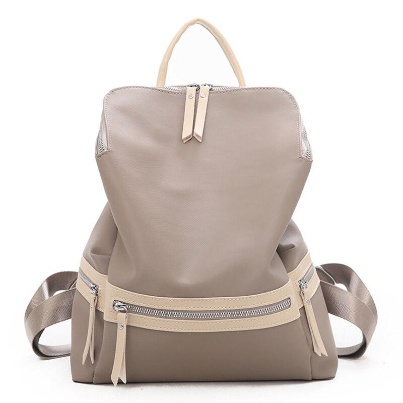 Dutiful 2019 Nylon Oxford Women Backpack Femme Zipper High Quality Multifunction Big Bag Shoulder Sac School Bags Travel Mochila Xa7k Delicacies Loved By All Luggage & Bags Women's Bags