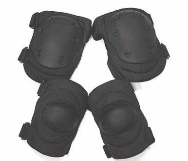 ADVANCED TACTICAL KNEE & ELBOW PADS BLACK CB