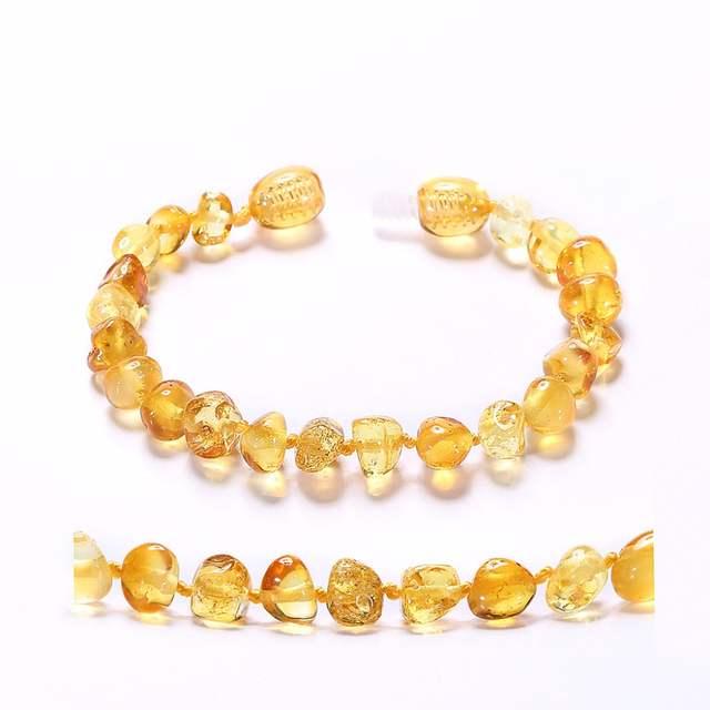 Baltic Amber Teething Bracelet For Baby