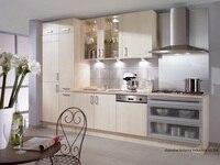 Меламин/mfc кухонных шкафов (LH ME061)