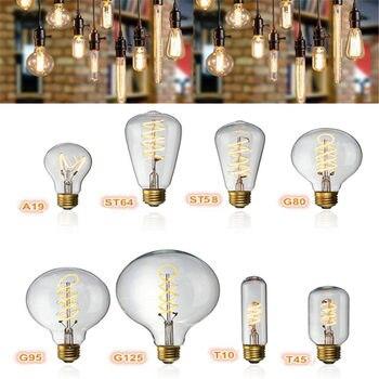 Vintage Led Glühbirne Edison Birne E27 4 Watt Dimmbar Industrie