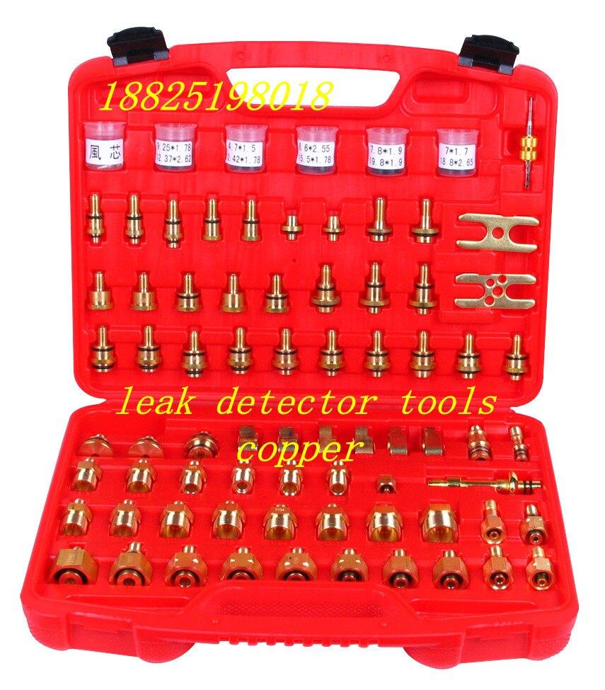 Outil de détection de fuite de cuivre, instrument de détection de fuite de climatiseur, outil de détection de fuite de climatisation automobile
