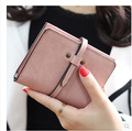 2016 Designer Famous Brand Luxury Women Wallet Purse Female Small walet cuzdan perse Portomonee portfolio lady short carteras