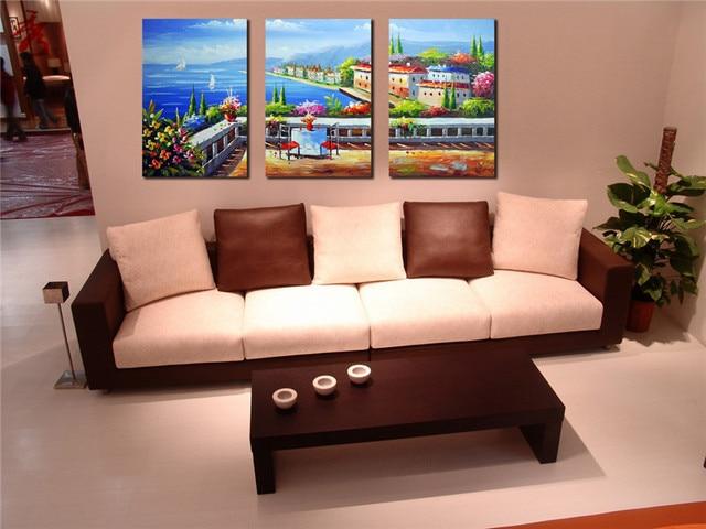 16x24 3 pcs modular imagem para sala de estar sem moldura pintura ...