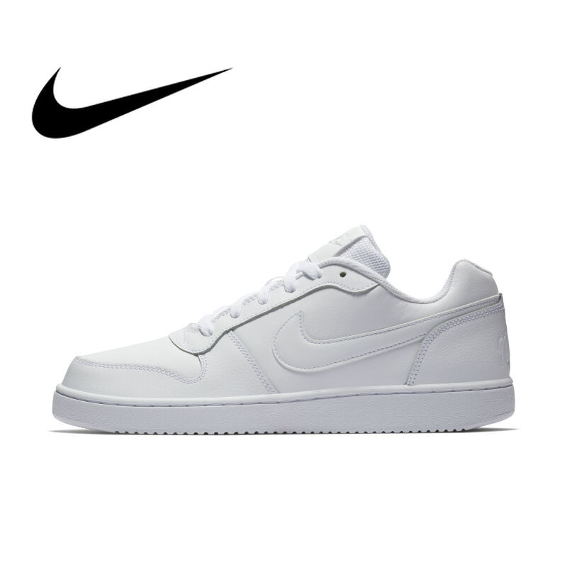 Original Authentic 2019 NIKE EBERNON LOW Classic Mens Skating Shoes Flat Wear Resistant Sneakers Light Weight Leisure AQ1775Original Authentic 2019 NIKE EBERNON LOW Classic Mens Skating Shoes Flat Wear Resistant Sneakers Light Weight Leisure AQ1775