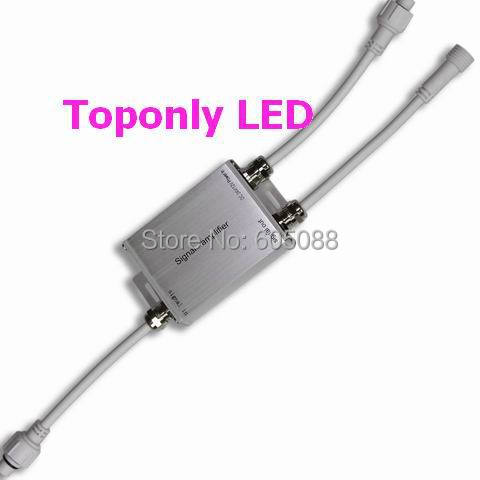 ФОТО IP65 waterproof rgb led lamp amplifier DC12v/24V 180/360W 15A output widely use for normal rgb led luminaires DHL free shipping