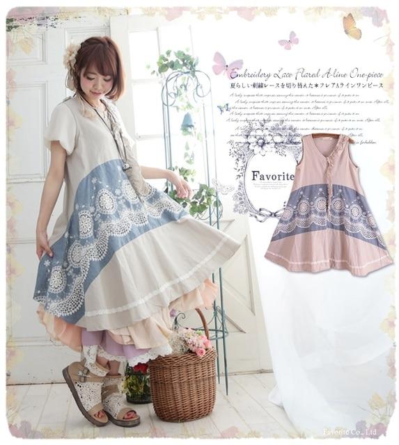 vintage pattern patchwork hippie boho vestido invierno mujer mori girl  abbigliamento donna jurken ropa lolita fall 2d74b67e4