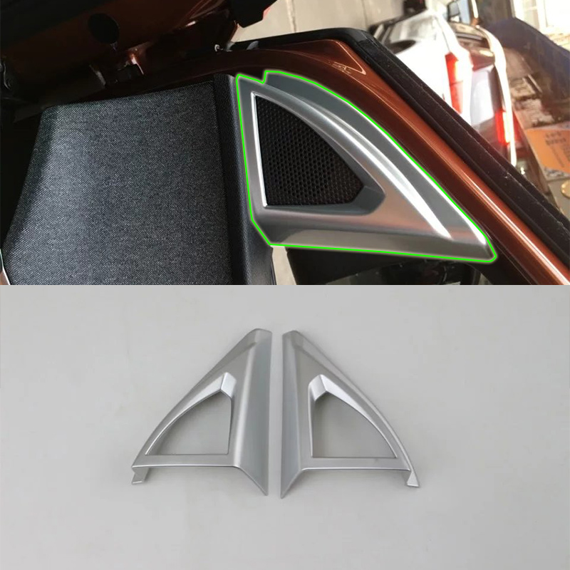 Auto accessories inner A pillar cover 2pcs Car Styling accessories For <font><b>Peugeot</b></font> <font><b>4008</b></font> <font><b>2016</b></font> image