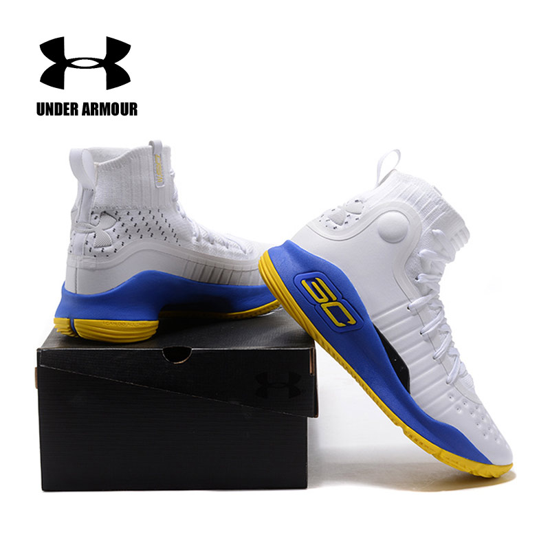 e46c746b7 Under Armour UA Curry 4 CS Basketball Shoes Men Sport Sneakers Men Light  Comfortable breathable Cushioning Shoes