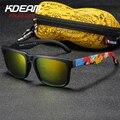 Солнцезащитные очки Kdeam мужские  поляризационные  брендовые  дизайнерские  квадратные солнцезащитные очки  зеркальные  для пляжа  для отдых...