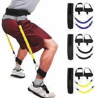 Многофункциональный тренажер для ног с 4 трубами, эластичные тянущиеся ленты для йоги, фитнеса, ног, педали для бодибилдинга