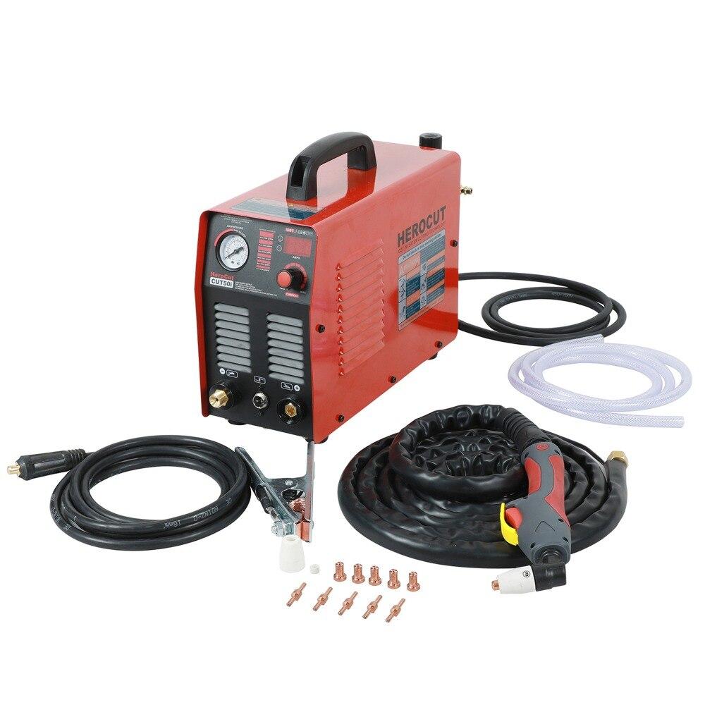 Espessura limpa 15mm da máquina de corte do plasma do ar da c.c. do cortador cut50i 50 ampères 220 v do plasma de igbt