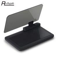 Universal H6 Smartphone HUD Head Up Display Holder Car GPS Navigator With Transparent Reflection Film Black