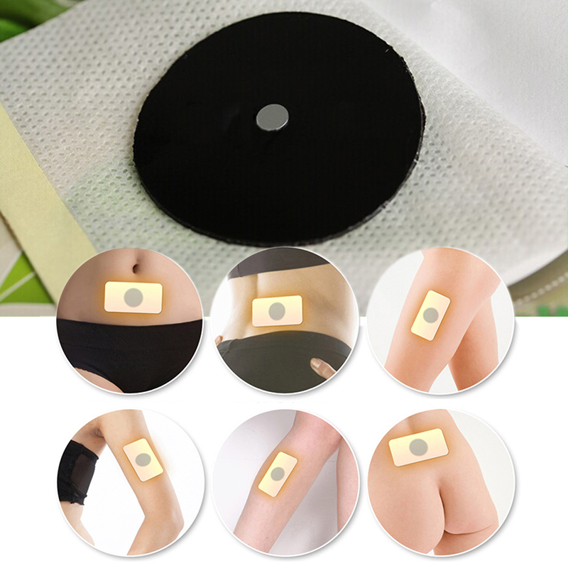 10PCS Strongest Sleep Weight Loss Navel Stick Magnetic Slim Fat Burning Slimming Diets Slim Patch Pads Detox Adhesive Sheet