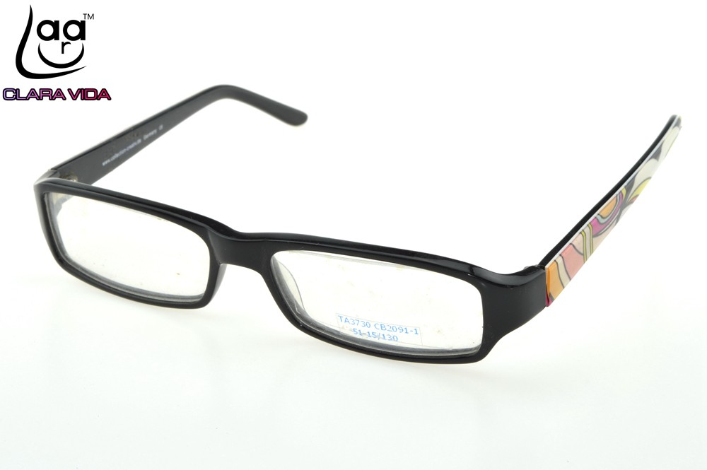 ff6a4f7982e Rectangular Thick Edges Trend UNISEX Nerd Glasses Frame Custom Made ...
