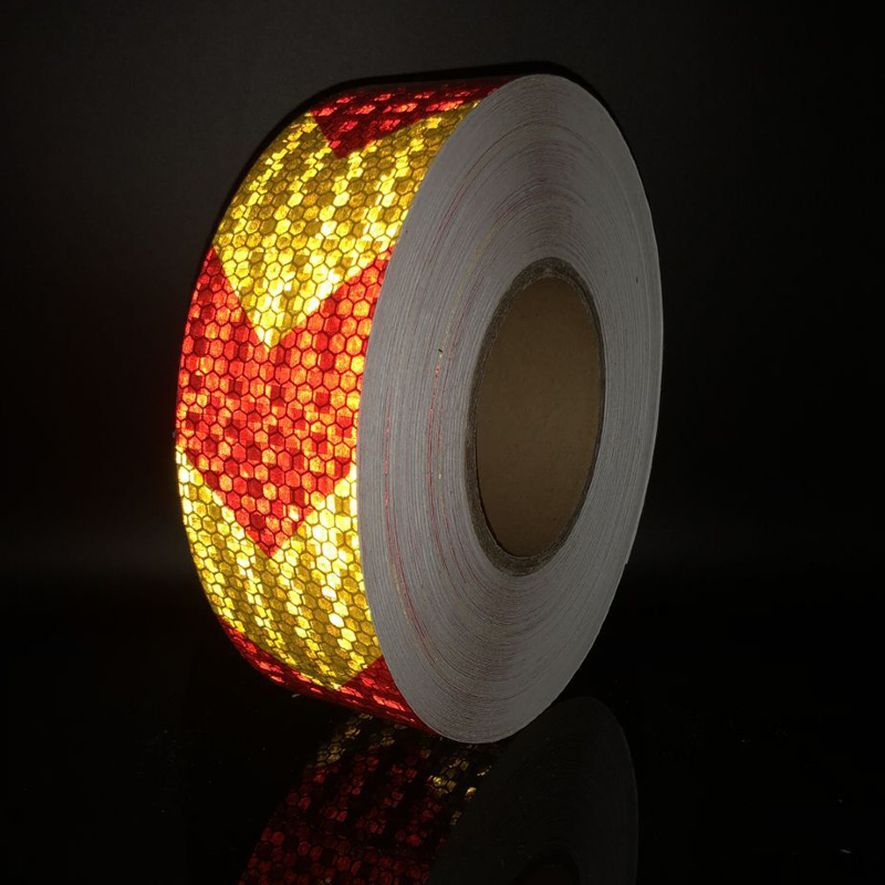 5cmx10m Reflective Stickers Bike Trailer Reflective Strips Self Adhesive Film Arrow Sign Reflective Tape Bicycle Decals