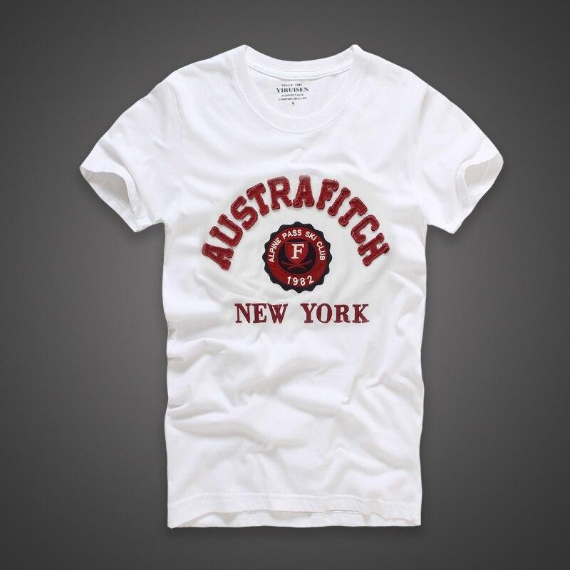 2017 New Style Top Quality Summer Men Casual   T  -  shirt   100% Cotton Short Sleeve   T     Shirt   Hollistic Men S-3XL Clothing Tshirt Homme