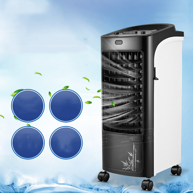 27 Indoor Portable Evaporative Air Cooler and Heater with 5L water ...