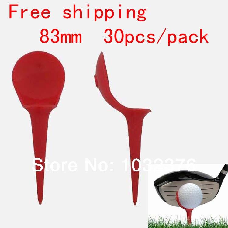 Free Shipping 30pcs Plastic Chair Shape Club Practice Training Accessories Golfing Tool,golf tee