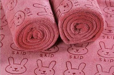 Для новорожденных маленьких детей мягкие фланелевые одеяло с капюшоном для ванной полотенца кролик животных