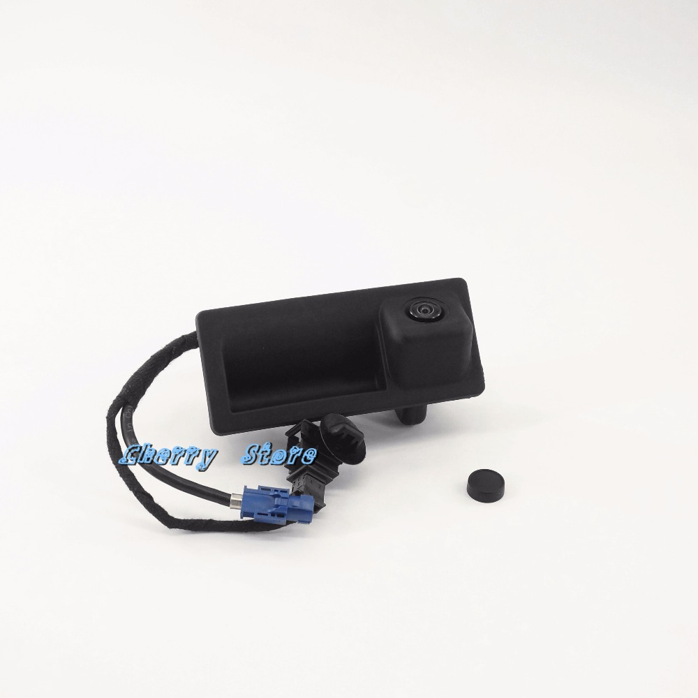 NEW 56D 827 566 A RGB REAR VIEW CAMERA FOR VW Volkswagen PASSAT TIGUAN GOLF JETTA MK6 RCD510 RNS315 RNS510 18D 827 566 A держатель для gps rns510 rns315 mfd3 gps