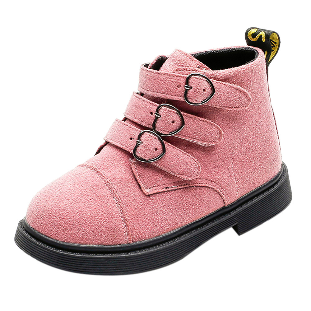 eeb277d4c8079 US $4.32 46% OFF|Baby Shoe2018 Fashion Winter Soft Boots Newborn Baby  Children Thick Martin Sneaker Warm Soft Boots Snow Anti Slip Shoes-in Boots  from ...