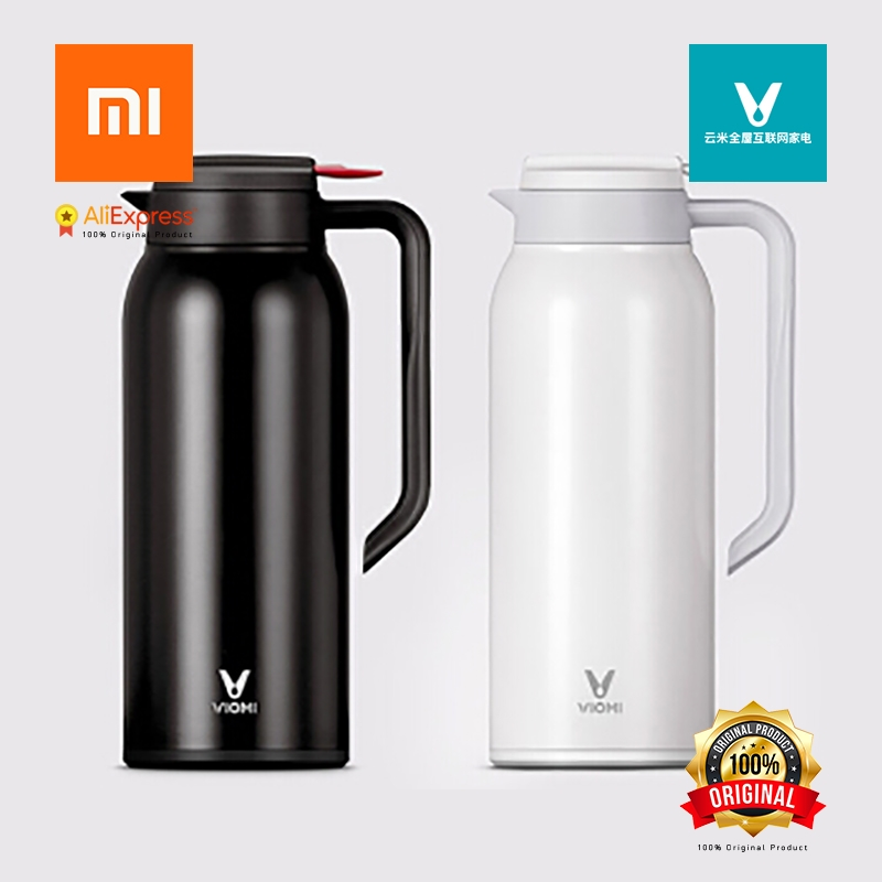 Xiaomi Original VIOMI 1.5L Portable Kettle Thermos Bottle, Vacuum Flask High-performance Stainless Steel Container 316 vacuum flask thermos bottle holder 304 stainless steel boat yacht ship trailer car marine hardware