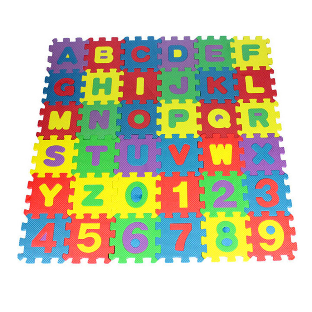 36Pcs ABC flashcards Baby Child Number Alphabet Puzzle Foam Maths Educational Toy Gift whole pack Foam 36Pcs ABC flashcards Baby Child Number Alphabet Puzzle Foam Maths Educational Toy Gift whole pack Foam Mat Toy HOOLER