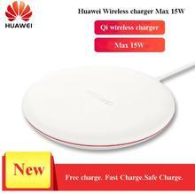 HUAWEI Оригинал CP60 QI Max 15 Вт Быстрое беспроводное зарядное устройство для iphone Xs Max/XR/X/Huawei Mate20 Pro/RS Galaxy S9 быстрое зарядное устройство