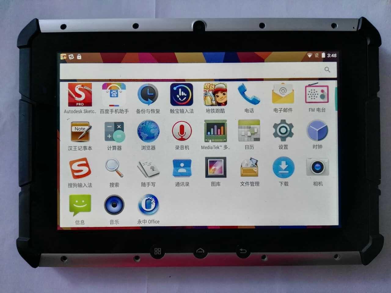 original Industrial Rugged Tablet PC 10 1 Electromagnetic Screen Android 5 0 ip65 waterproof phone 4G
