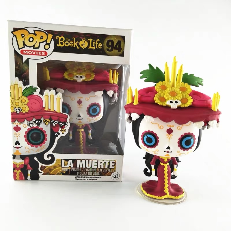 Best Price Funko pop Official Movies: Book of Life - <font><b>La</b></font> Muerte #94 Vinyl Action Figure Collectible Model Toy with Original Box image