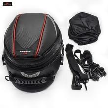 16-21L Motorcycle Tail Bag Luggage Moto Saddle Bag Waterproof Tank Bag Motocross Motorbike Shoulder Bag Rear Seat Trunk Backpack недорого