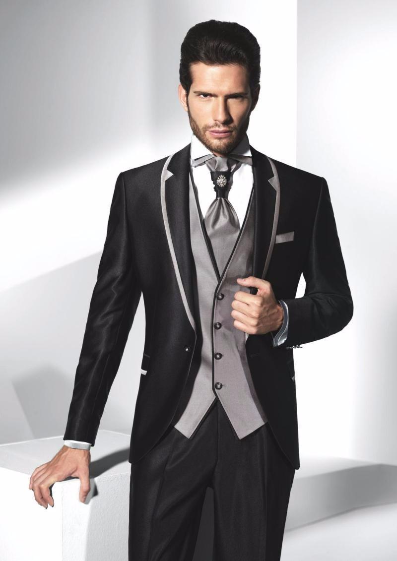 033eda7b3f0 Different Shawl Lapel Groom Tuxedos and Tailcoat Groomsmen Best Man ...