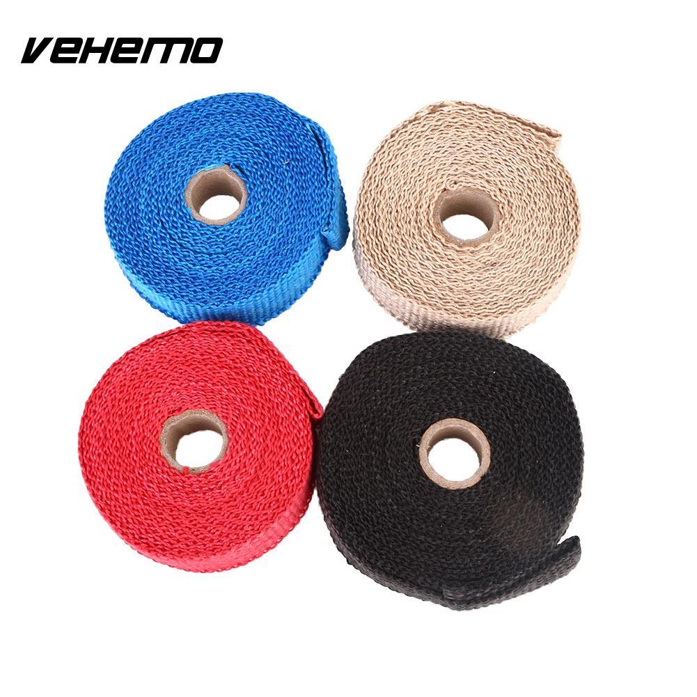 For Exhaust Pipe Heat Shield Wrap Heat Insulation Bashofu Kit Useful Car Supply