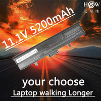 HSW 5200 мАч 6 ячеек Новый аккумулятор для ноутбука DELL XPS M1530 1530 HG307 RU006 TK330 RU033 RN894 GP97 XT832 312-0664 451-10528 AKKU